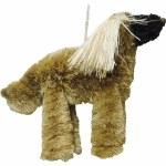 BRUSH ANIMAL AFGAN DOG