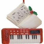 KEYBOARD INSTRUMENT WITH BOOK
