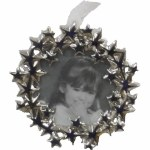 SILVER STAR PICTURE FRAME