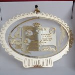 COLORADO BRASS ORNAMENT