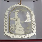 DELAWARE BRASS ORNAMENT