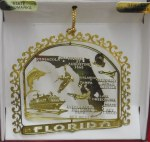 FLORIDA BRASS ORNAMENT