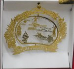 HAWAII BRASS ORNAMENT