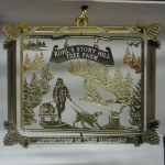 BRASS KOHLS STONY HILL TREE FARM ORNAMENT