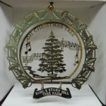 BRASS KOHL'S STONY HILL TREE FARM OH CHRISTMAS TREE