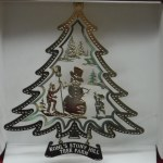 BRASS KOHL'S STONY HILL TREE FARM ORNAMENT