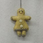 GINGERBREAD GIRL - FELT
