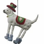 DOG WITH SADDLE - FELT