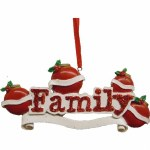 FAMILY OF 4  TO PERSONALIZE
