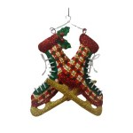 PLAID ICE SKATES