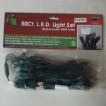 50 COUNT LED RED LIGHT SET
