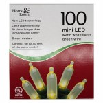 100 LED WARM WHITE MINI LIGHTS