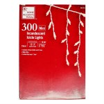300 COUNT CLEAR ICICLE LIGHT SET