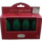 C9 GREEN BULBS