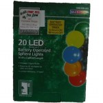 20 CT LED  SPERE LIGHT SET BATTERY OPERATED