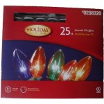 25 CT C9 LIGHTS MULTI COLORED LIGHT SET