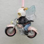 FAIRY RIDING MOTORCYCLE