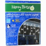 140 CT LED ICICLE LIGHTS BOX