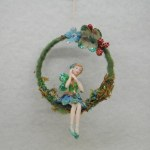 FAIRY ON WREATH