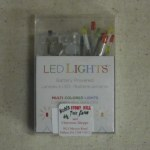 BATTERY OPERATED MICRO CLEAR LED LIGHT SET