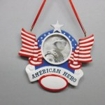 AMERICAN HERO PICTURE FRAME