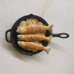 FISH IN FRYING PAN