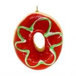 RED GREEN GLAZED DONUT