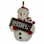 HERSHEY BAR SNOWMAN