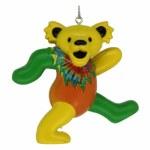 GREEN/YELLOW GREATFUL DEAD BEAR