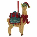 ALPACA HOME FOR CHRISTMAS