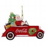 COCA COLA CAR WITH SANTA