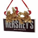 HERSHEY BAR WITH 4 BEARS