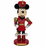 "10"" MINNIE MOUSE NUTCRACKER"
