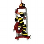 FIRE FIGHTER OUTFIT WITH LADDER
