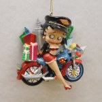 MOTORCYCLE BETTY BOOP