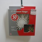 50 PACK EZ-ORNAMENT HANGERS