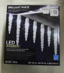 24 CT LED ICICLE LIGHT SHOW