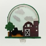 FARM SCENE NIGHT LIGHT