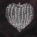 SPUN GLASS HEART
