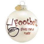 FOOTBALL GLASS BALL