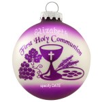 FIRST HOLY COMMUNION GLASS BALL