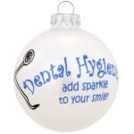 DENTAL HYGIENISTS GLASS BALL