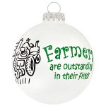 FARMERS GLASS BALL