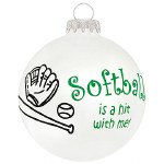 SOFTBALL GLASS BALL