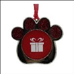 PAW PRINT PICTURE FRAME RED