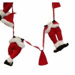 6 FOOT SANTA CLOTHES LINE