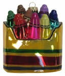 BOX OF CRAYONS GLASS