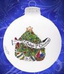 BABY'S 1ST CHRISTMAS GLASS BALL