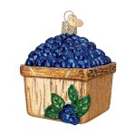 BASKET OF BLUEBERRIES OLD WORLD
