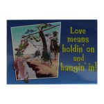LOVE MEANS MAGNET